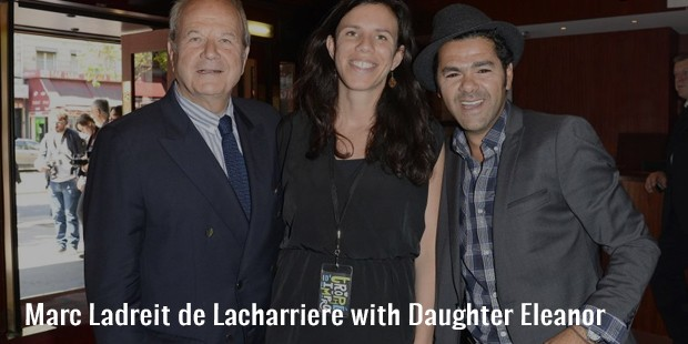 marc ladreit de lacharriere with daughter eleanor