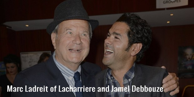 marc ladreit of lacharriere and jamel debbouze
