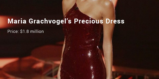 maria grachvogel's precious dress