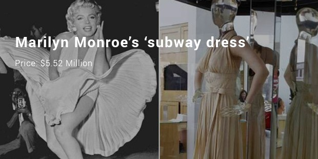 marilyn monroe's 'subway dress'