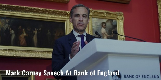 mark carney speech at bank of england