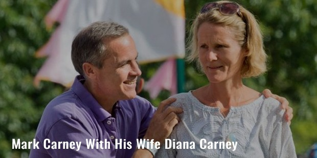 mark carney with his wife diana carney