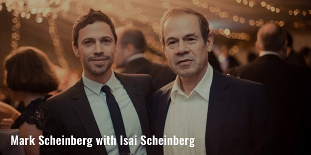 mark scheinberg with isai scheinberg