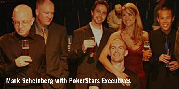 mark scheinberg with pokerstars executives