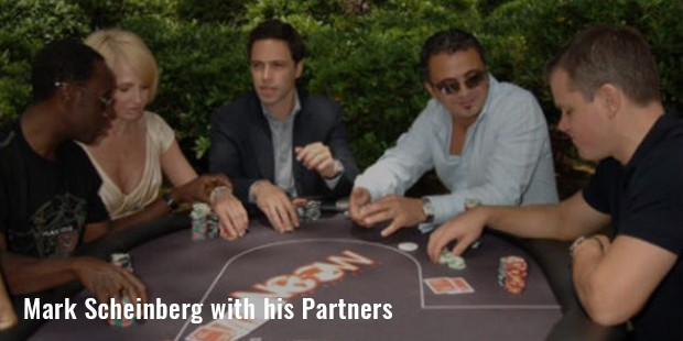 mark scheinberg with his partners
