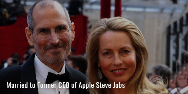 married to former ceo of apple steve jobs