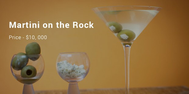 martini on the rock