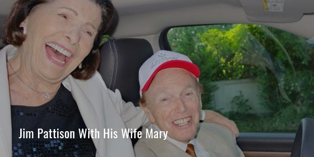 mary and jim pattison