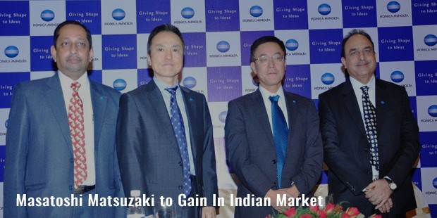 masatoshi matsuzaki to gain in indian market