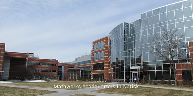 mathworks headquarters in natick