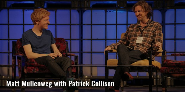 matt mullenweg with patrick collison