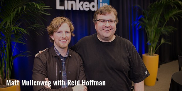 matt mullenweg with reid hoffman