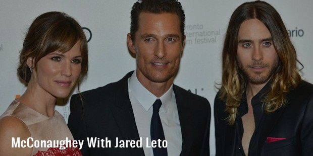 mcconaughey with jared leto