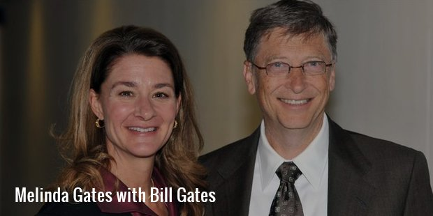 melinda gates with billgates