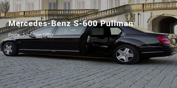 mercedes benz s 600 pullman