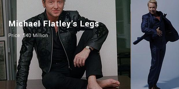 michael flatley's legs