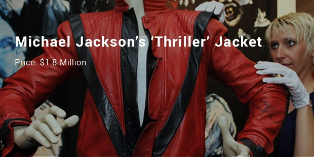 michael jackson's 'thriller' jacket