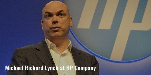 michael richard lynch at hp company