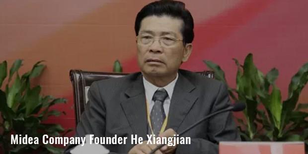 midea company founder he xiangjian