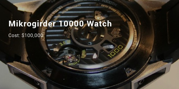 Tag Heuer Mikrogirder 10000 Watch