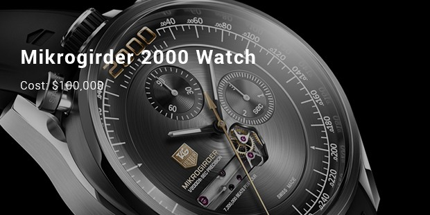 Tag Heuer Mikrogirder 2000 Watch