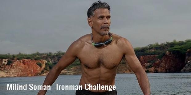 milind soman ironman challenge