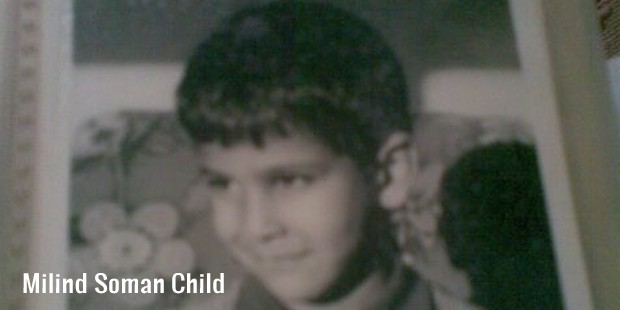 milind soman child