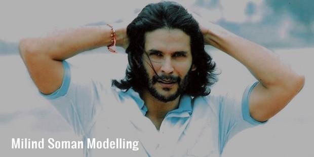 milind soman modelling