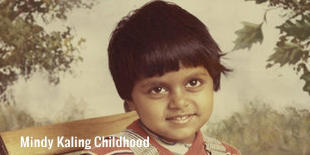 mindy kaling childhood