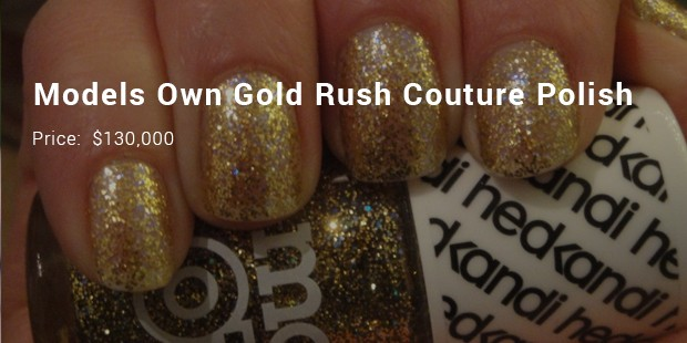 Models Own Gold Rush Couture Polish