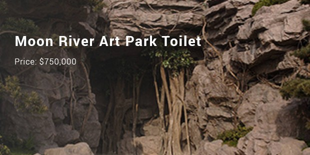 moon river art park toilet