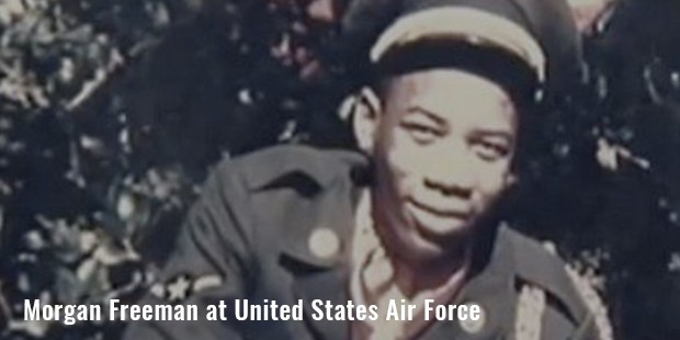 morgan freeman at united states air force