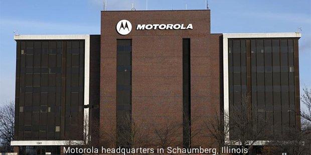 motorola headquarters in schaumberg, illinois