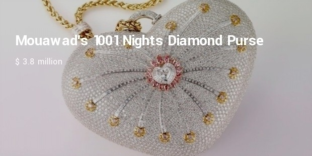 mouawads 1001 nights diamond purse
