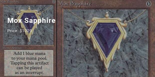 mox sapphire