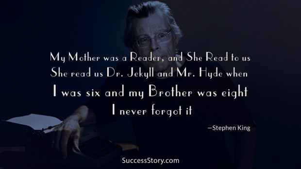 my mother was a reader