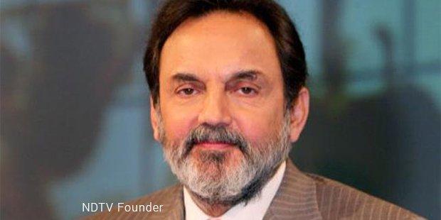 ndtv founder
