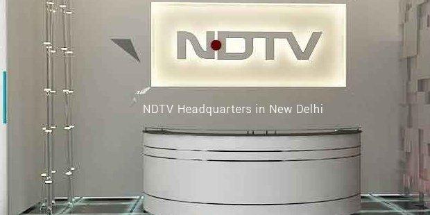 ndtv headquarters in new delhi