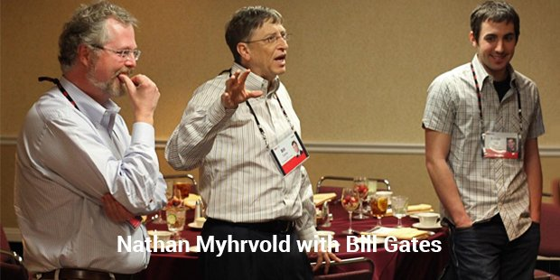 nathan myhrvold with billgates