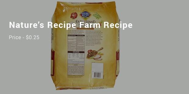 nature's recipe farm recipe