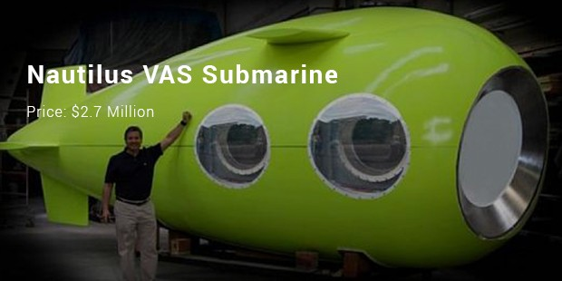 nautilus vas submarine