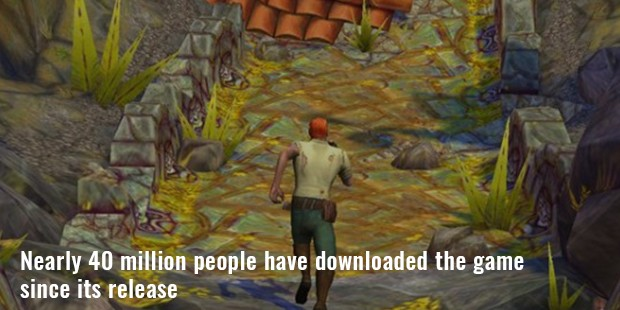 nearly 40 million people have downloaded the game