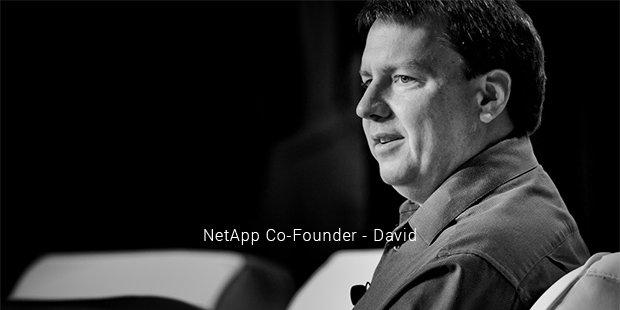 netapp co founder   david