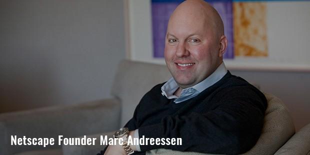 netscape founder marc andreessen