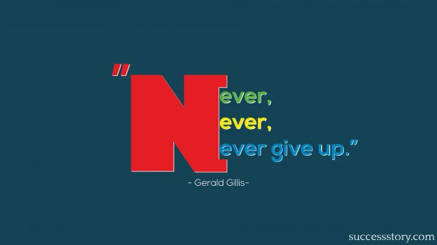 never,