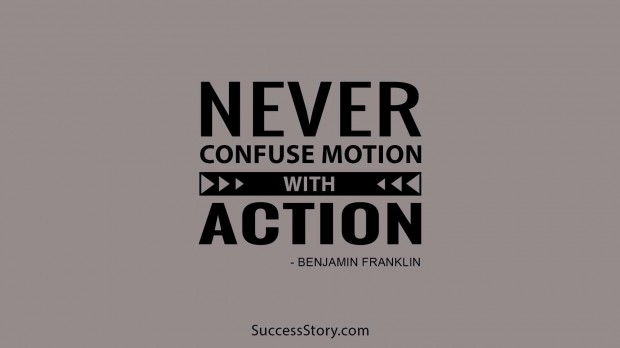 Never confuse motion