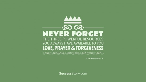 never forget the three powerful