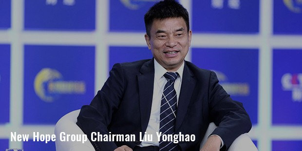 new hope group chairman liu yonghao