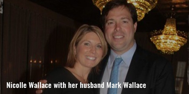 nicolle wallace with her husband mark wallace