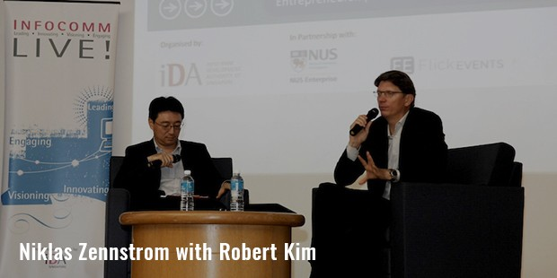 niklas zennstrom with robert kim